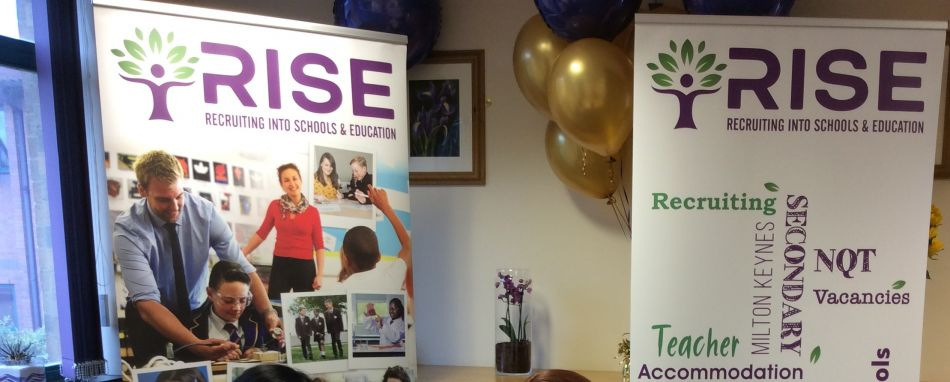 RISE - recruiting into schools and education