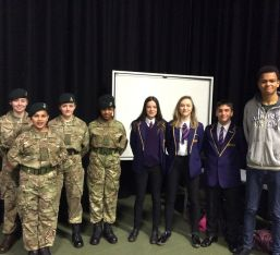 Pupils Share Experience As Cadets