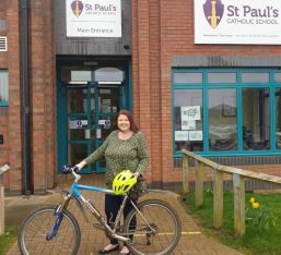 Headteacher Supports Ride It Out Campaign