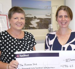 Fundraising for Primrose Oncology Unit