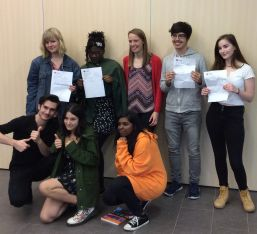 Students Celebrate A-Level Success
